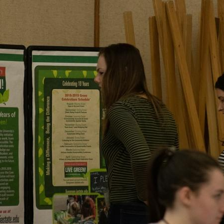 Iowa State University's Live Green! Initiative helped support the event.