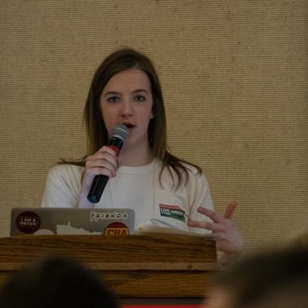 Students lead the conference, hosted the conference and attended the conference.