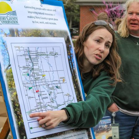 Story Conservation offered a map of activities to do to celebrate Earth day every day.