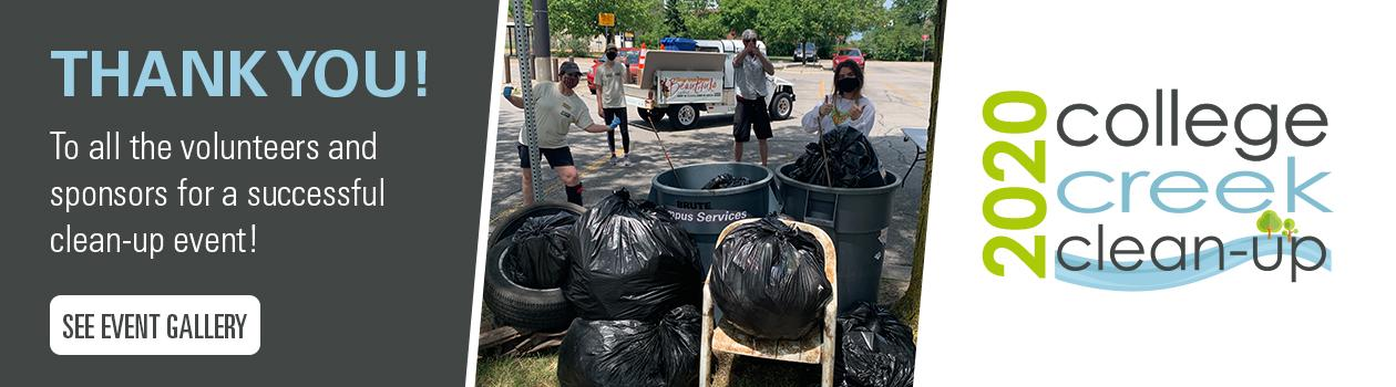 2020 College Creek Clean-Up