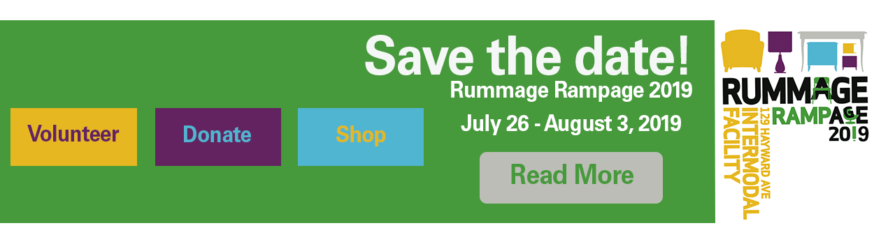 2019 Rummage Rampage Save the Date