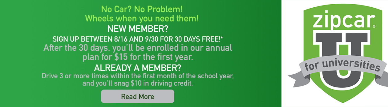 2018 ZipCar discount 2