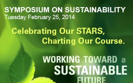Symposium on Sustainability 2014